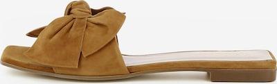 Gianluca Pisati Damen Pantolette Emy in braun, Produktansicht