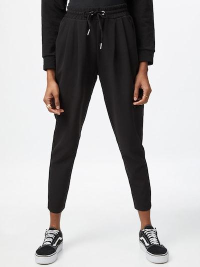 NEW LOOK Voltidega püksid must, Modellivaade
