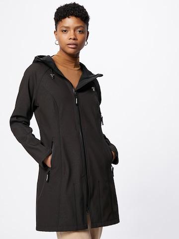 ILSE JACOBSEN Ανοιξιάτικο και φθινοπωρινό παλτό σε μαύρο