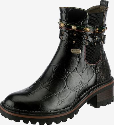 Laura Vita Chelsea Boots 'Kesso' in Gold / Black, Item view