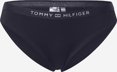 Slip costum de baie TOMMY HILFIGER pe albastru închis / alb, Vizualizare produs
