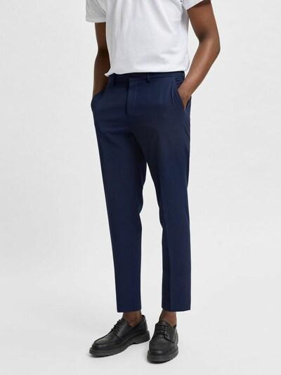 SELECTED HOMME Pantalon in de kleur Saffier: Vooraanzicht