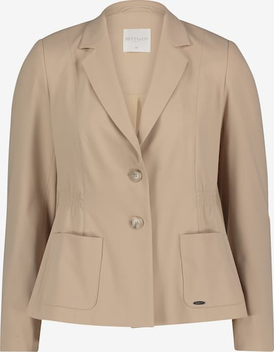 Betty & Co Blazer in beige, Produktansicht