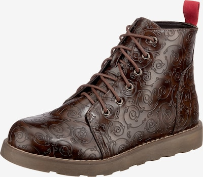 ambellis Lace-Up Ankle Boots in Brown, Item view