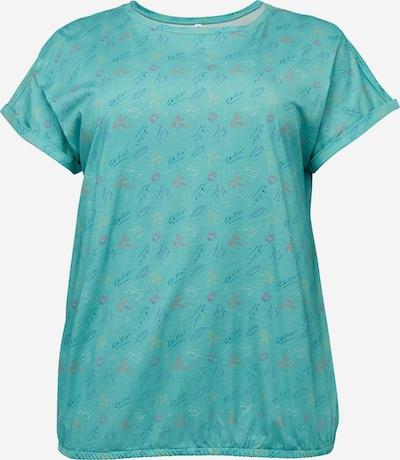 SHEEGO Shirt in de kleur Turquoise, Productweergave