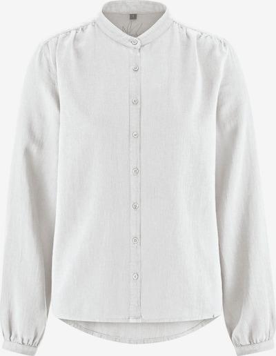 HempAge Bluse ' Stehkragenbluse ' in weiß, Produktansicht