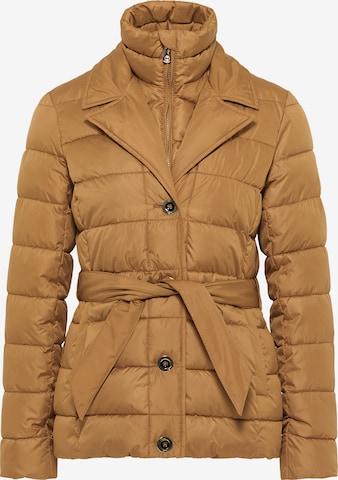 faina Winter Jacket in Brown