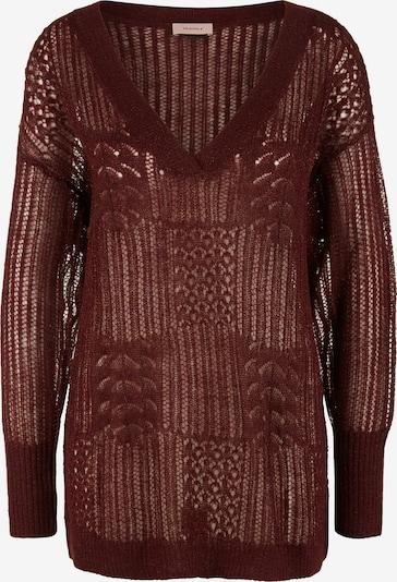 TRIANGLE Pullover in kastanienbraun, Produktansicht