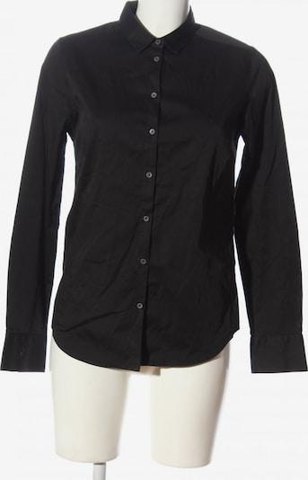 NILE Langarmhemd in M in schwarz, Produktansicht