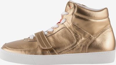 Högl High-Top Sneakers 'Run Through' in Gold, Item view