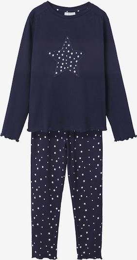 MANGO KIDS Pajamas 'Estela' in Navy / White, Item view