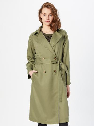 Hailys Between-Seasons Coat 'Camina' in Olive, View model