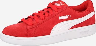 PUMA Sneaker 'Smash v2' in hellrot / weiß, Produktansicht