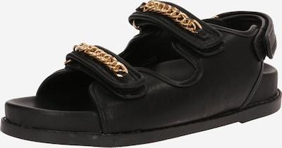 Sandale 'ELLIS' Public Desire pe auriu / negru, Vizualizare produs