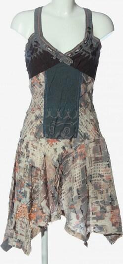 Smash! A-Linien Kleid in M in blau / braun / wollweiß, Produktansicht