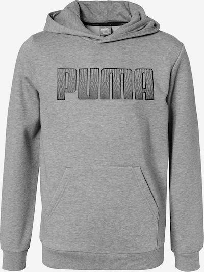 PUMA Pullover in graumeliert / schwarz, Produktansicht
