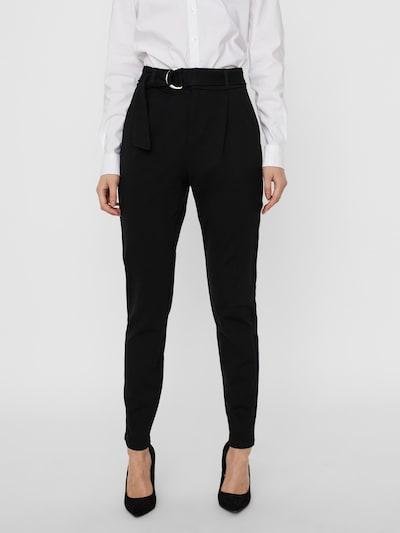 VERO MODA Plisované nohavice - čierna, Model/-ka