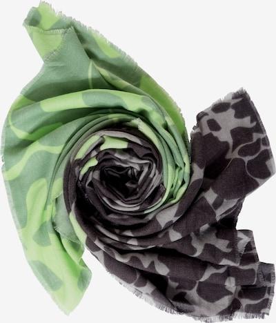 STREET ONE Schal in grau / grün / schwarz, Produktansicht