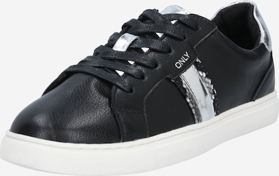 kő / fekete / fehér ONLY Rövid szárú edzőcipők 'SIMI', Termék nézet