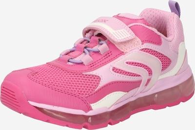 GEOX Brīvā laika apavi 'J ANDROID' rozā / rožkrāsas / balts, Preces skats