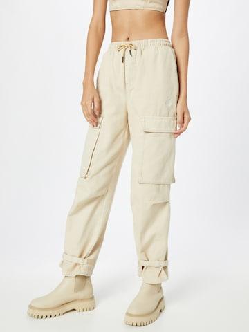 ABOUT YOU x INNA - Pantalón cargo 'Mia' en beige