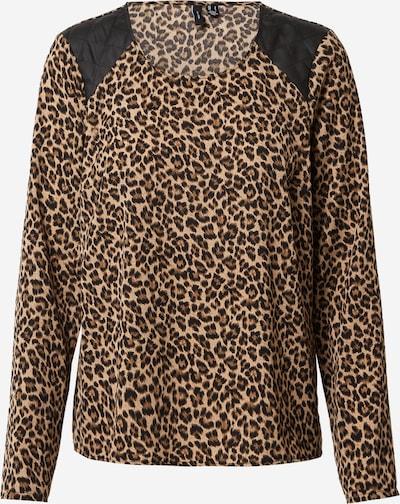 VERO MODA Shirt 'SERENA' in creme / braun / schwarz, Produktansicht
