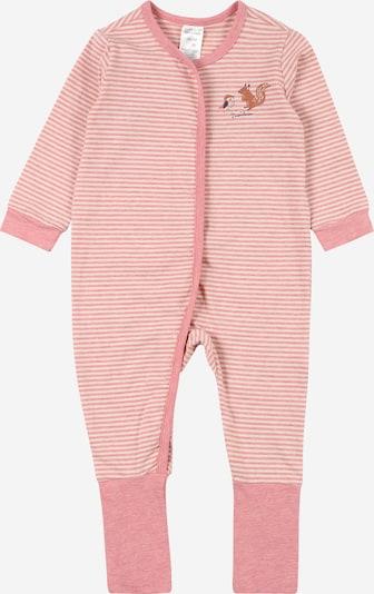 SCHIESSER Schlafanzug in mischfarben / pink / weiß, Produktansicht