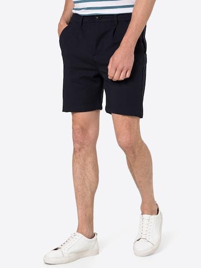 Kronstadt Plisované nohavice - námornícka modrá, Model/-ka