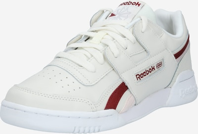 Reebok Classic Sneaker low 'WORKOUT LO PLUS' i creme / bordeaux, Produktvisning