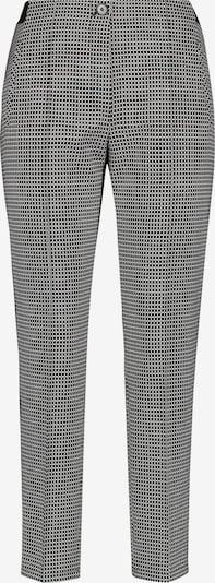 GERRY WEBER Hose mit Minimalkaro in schwarz, Produktansicht