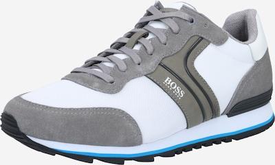 BOSS Casual Sneakers laag 'Parkour' in de kleur Stone grey / Zwart / Wit, Productweergave