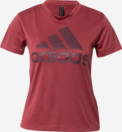 ADIDAS PERFORMANCE T-shirt fonctionnel en aubergine / rouge foncé, Vue avec produit