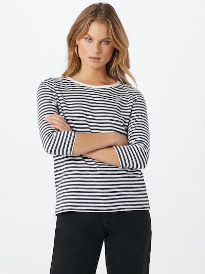 EDC BY ESPRIT Shirt in navy / weiß: Frontalansicht