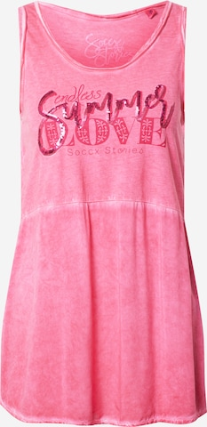 Soccx Top in Roze
