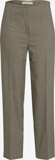 IVY & OAK Pantalon à plis en sable / bleu marine / brun foncé, Vue avec produit
