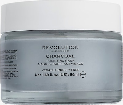 Revolution Skincare Maske 'Charcoal' in weiß, Produktansicht