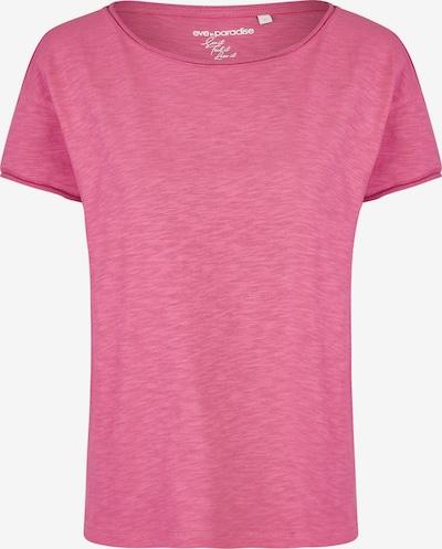 eve in paradise T-Shirt 'Gina' in dunkelpink, Produktansicht