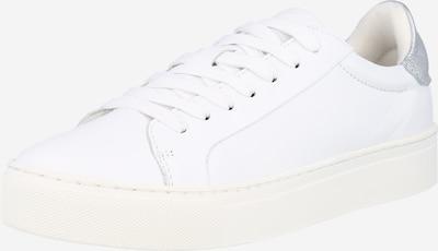 Sneaker low SELECTED FEMME pe argintiu / alb, Vizualizare produs