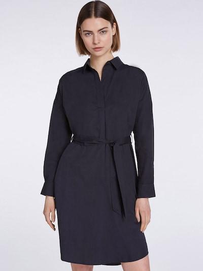 SET Blusenkleid in schwarz, Modelansicht