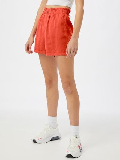 Noisy may Pantalon 'MARIA' en mandarine, Vue avec modèle