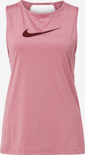 NIKE Športni top | rosé / temno rdeča barva, Prikaz izdelka