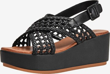INUOVO Sandaal in Zwart