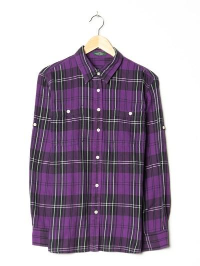 Lauren Ralph Lauren Flanellhemd in XL in neonlila, Produktansicht