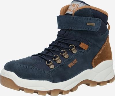 Auliniai batai su kulniuku 'Pohgt' iš PRIMIGI , spalva - tamsiai mėlyna / ruda, Prekių apžvalga