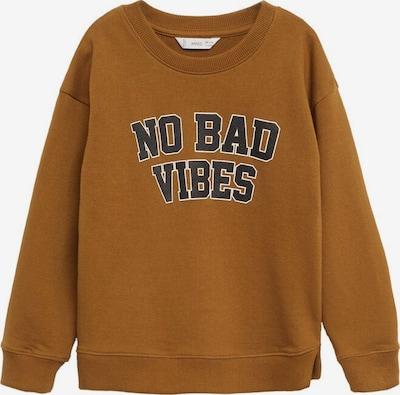 MANGO KIDS Sweatshirt in de kleur Bruin / Zwart / Wit, Productweergave