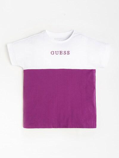 GUESS KIDS T-Shirt in lila / weiß, Produktansicht