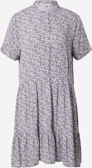 mbym Robe-chemise 'Lecia' en jaune / lavande / noir, Vue avec produit