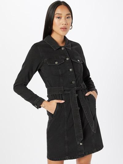 JDY Blousejurk 'SANSA' in de kleur Black denim, Modelweergave