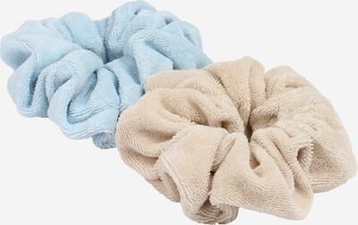 NU-IN Haarschmuck in beige / hellblau, Produktansicht