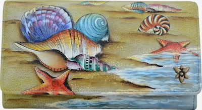 ANUSCHKA Brieftasche 'Gift of the Sea' in mischfarben, Produktansicht